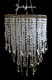 Chandelier Acrylic Acrylic Chandelier Centerpiece Clear For Party Decoration