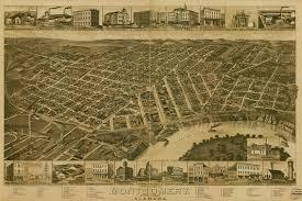 State Of Alabama Map by File Montgomery Alabama 1887 Map Jpg Wikimedia Commons