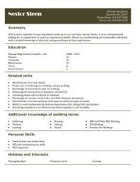 Ice Cream Scooper Resume Free Resume Templates For High Students Babysitting Fast