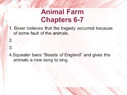 animal farm boxer essay animal farm chapters 6 7 the animals