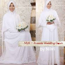 wedding dress syari baju gamis nikah