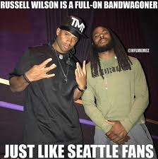 Russell Wilson Memes - nfl memes russell wilson bandwagoning tmt would make any facebook