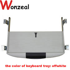 White Desk With Keyboard Tray by Online Get Cheap Desk Keyboard Tray Aliexpress Com Alibaba Group