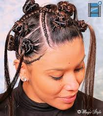 Frisuren Cornrows Anleitung by Nubian Knots Frisuren