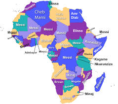 Africa Map Countries by Which Person Your African Country Googled The Most No Home