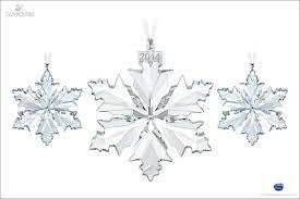 ornament swarovski snowflake ornament beautiful swarovski
