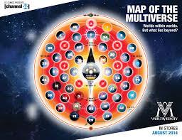 Marvel Universe Map Sdcc Grant Morrison U0027s Multversity Map