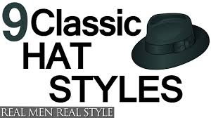 Kinds Of Hairstyles For Men by 9 Classic Hat Style For Men Why Wear Mens Hats How To Buy