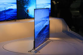sony shows off some of the world u0027s skinniest tvs at ces the san
