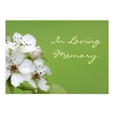 Funeral Service Invitation Personalized Remembrance Service Invitations Custominvitations4u Com