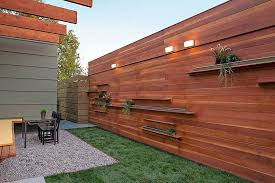 Privacy Fence Ideas For Backyard Wood Fence Ideas For Backyard Colors Backyard Fence Ideas Home
