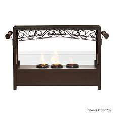 amazon com sei amz1485 acosta portable indoor outdoor fireplace