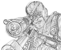 deathstroke batman arkham knight coloring pages sketch coloring