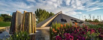 Colorado Botanical Gardens Denver Botanic Gardens Science Pyramid The Most Innovative