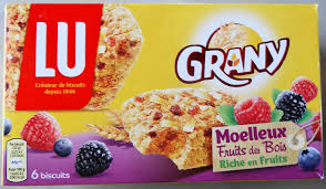sachet pour biscuit grany moelleux fruit des bois riche en fruits lu 192 g 6
