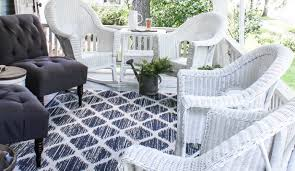 Can You Paint Wicker Chairs How To Paint Wicker Furniture For A Long Lasting Finish 1915 House