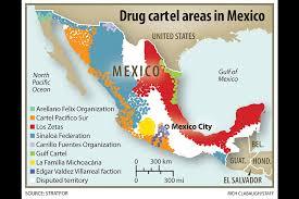 sinaloa mexico map mexico s most powerful cartels sinaloa federation