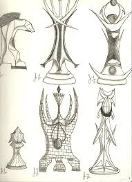 Chess Piece Designs by Fantasy Chess Pieces By Iradiusemu On Deviantart