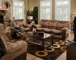 Sofas And Loveseats Sets by Portman 2 Piece Power Reclining Sofa Loveseat Set In Two Tone