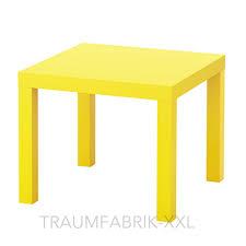 Wohnzimmer Tisch Ikea Lack Beistelltisch Gelb 55cm Couchtisch Sofatisch