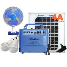solar dc lighting system sukam solar home lighting system with dc bulb dc fan panel at rs