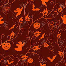 free halloween orange background pumpkin halloween background orange climber plant spiders pumpkins