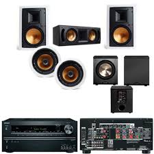 in wall home theater system amazon com klipsch r 3650 wii in wall system 1 rc 52ii free pl