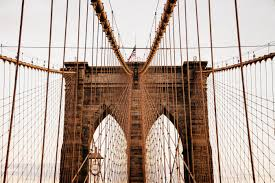 Brooklyn Flag Brooklyn Bridge In Manhattan New York Free Image Peakpx