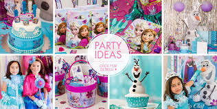 the birthday ideas frozen party supplies frozen birthday party ideas party city