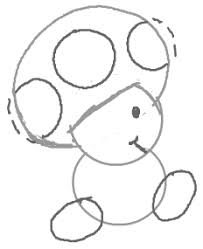 draw toads super mario bro games easy drawing