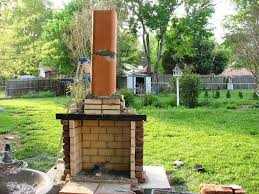 diy outdoor fireplace ideas hgtv with how to build an outdoor