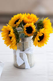 sunflower centerpiece 25 best sunflower table centerpieces ideas on
