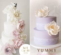 purple lilac u0026 lavender wedding cakes cake geek magazine