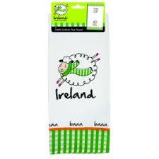 scotch green and white stripe dish towel kitchen towels irish dish towels irish tea towels irish kitchen accessories