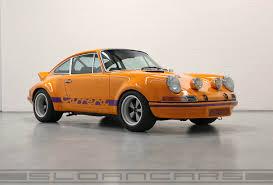 porsche orange 1972 porsche 911 rsr tribute signal orange black sloan cars