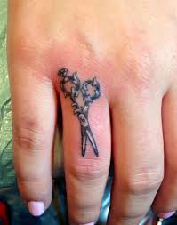 small finger u0027s scissor tattoo tattoomagz