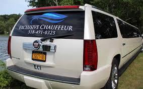 cadillac minivan white cadillac escalade stretch limousine limo albany ny
