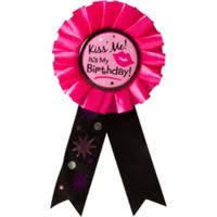 birthday girl pin award ribbons birthday buttons party city