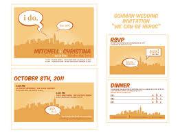 wedding invites yay meatch u0026 xtina wedding star crossed