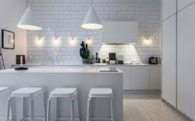 cuisine moderne blanche cuisine moderne blanche avec îlot en 83 idées inspirantes