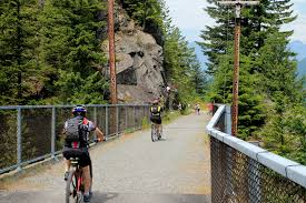 Seattle Bike Trail Map by Bicycle Shuttle Service To Snoqualmie Tunnel Launches On John