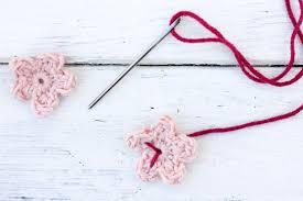 Crochet Halloween Garland Free Crochet Cherry Blossom Pattern
