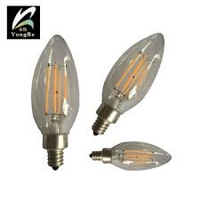wholesale flashing led candle light bulb for wall lamp crystal
