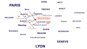 Tgv Map France by