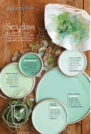 sea glass paint colors interiors by color