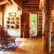 log home interiors images mountain home interiors integrating trees and branches in interior