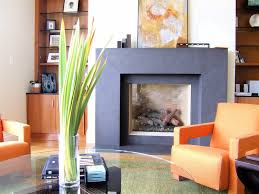 raised modern fireplace drywall surround family room contemporary