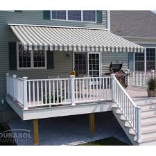 20 Ft Retractable Awning The Perfect Shade Flexi 16 X 12 Ft Manual Retractable Awning