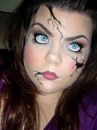 Creepy Doll Costume Last Minute Halloween Makeup Ideas Halloween Makeup Makeup