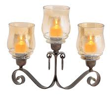 3 light hurricane candle holder allied home interiors